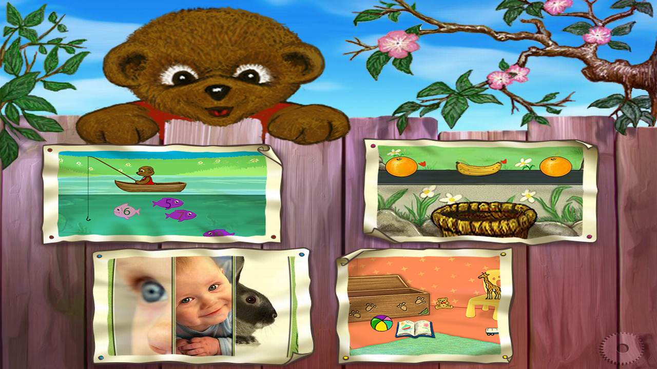 Little Bear Has Fun- screenshot