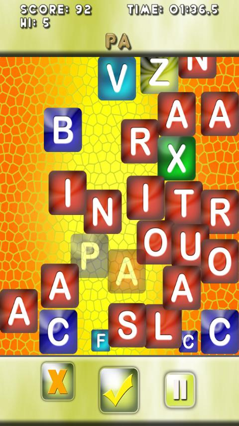 WordBlitz- screenshot