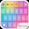 Emoji clavier amour Arc enCiel