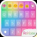 Rainbow Love Emoji Keyboard icon