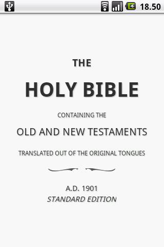 Holy Bible (ASV)- screenshot