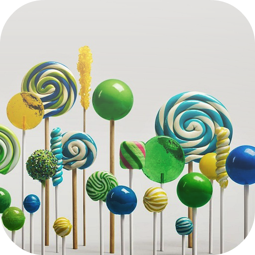 Lollipop Live Wallpaper