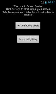 Screen Intelligibility Tester