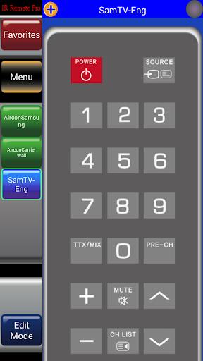 IR Remote Pro Galaxy G3 HTC