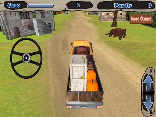 土路的卡車遊戲