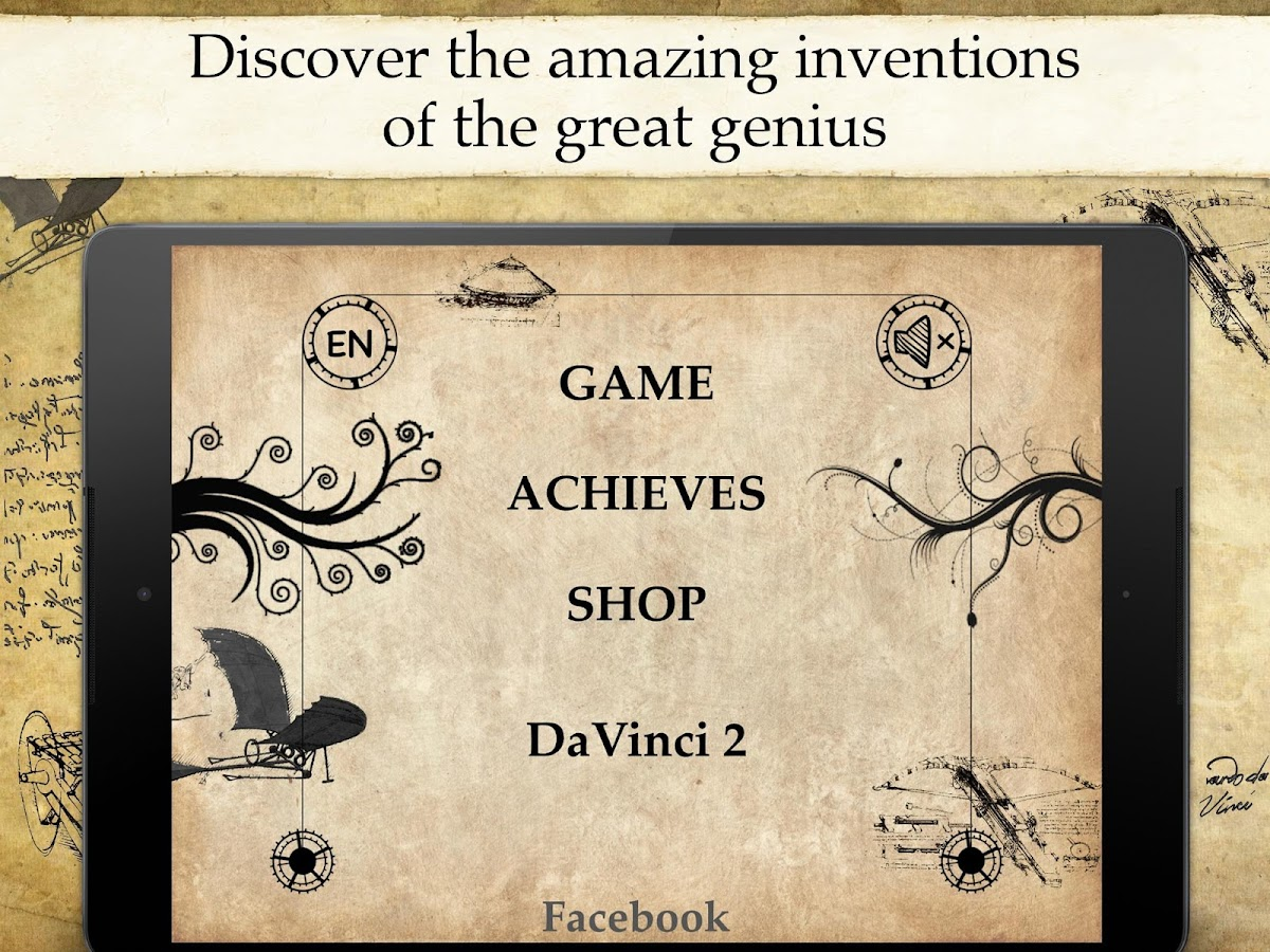 Da Vinci Riddles: Mystery - screenshot