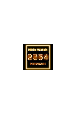 Nixie Watch - screenshot