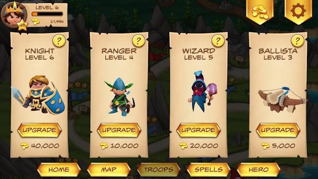 Royal Revolt! apk screenshot
