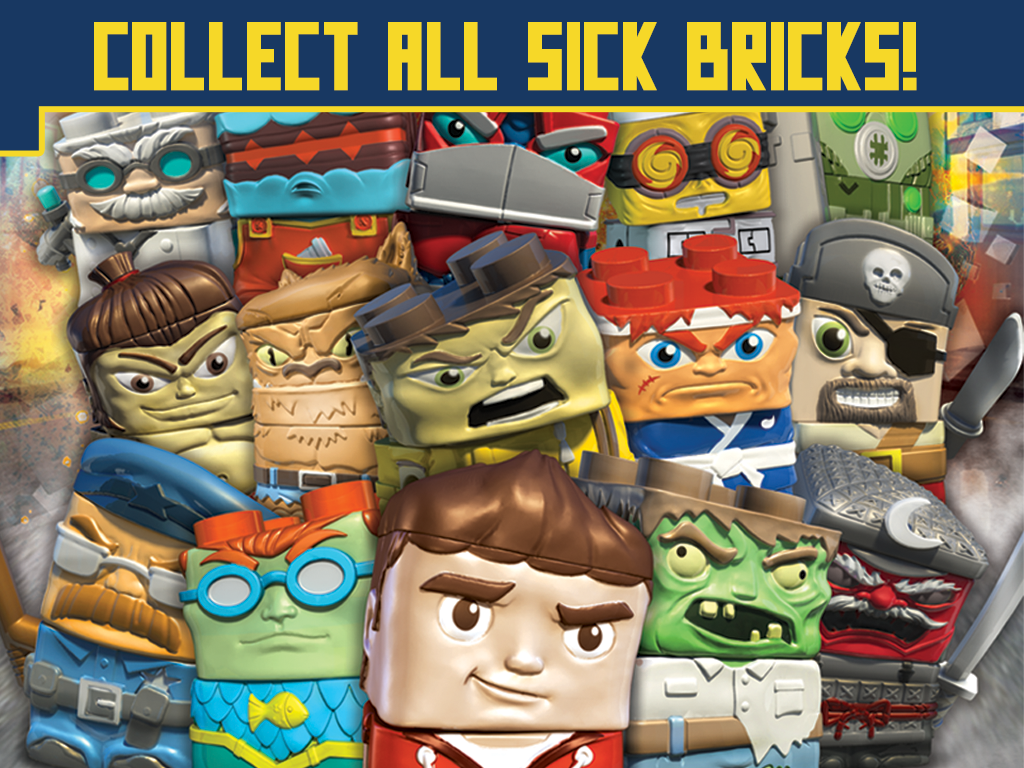 Sick Bricks- screenshot