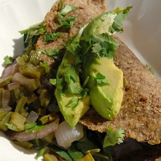 Nopal Tacos With Avocado!.