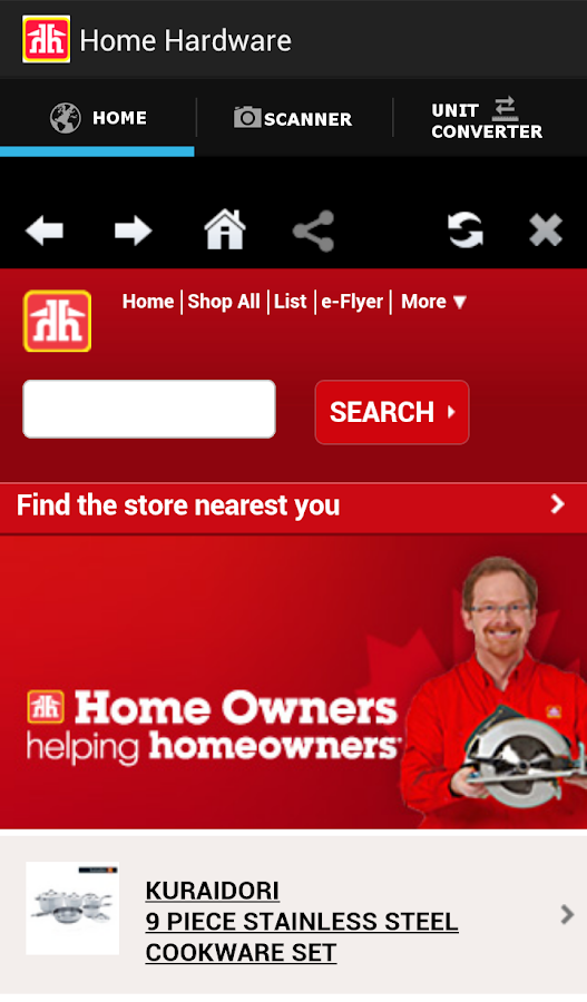 Home Hardware- screenshot