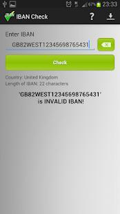 IBAN Check- screenshot thumbnail