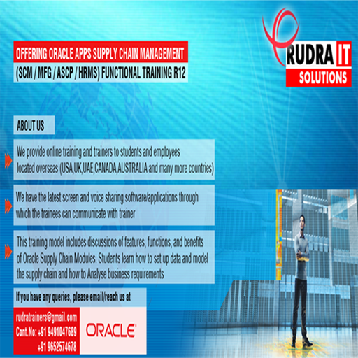 Rudra IT Solutions LOGO-APP點子