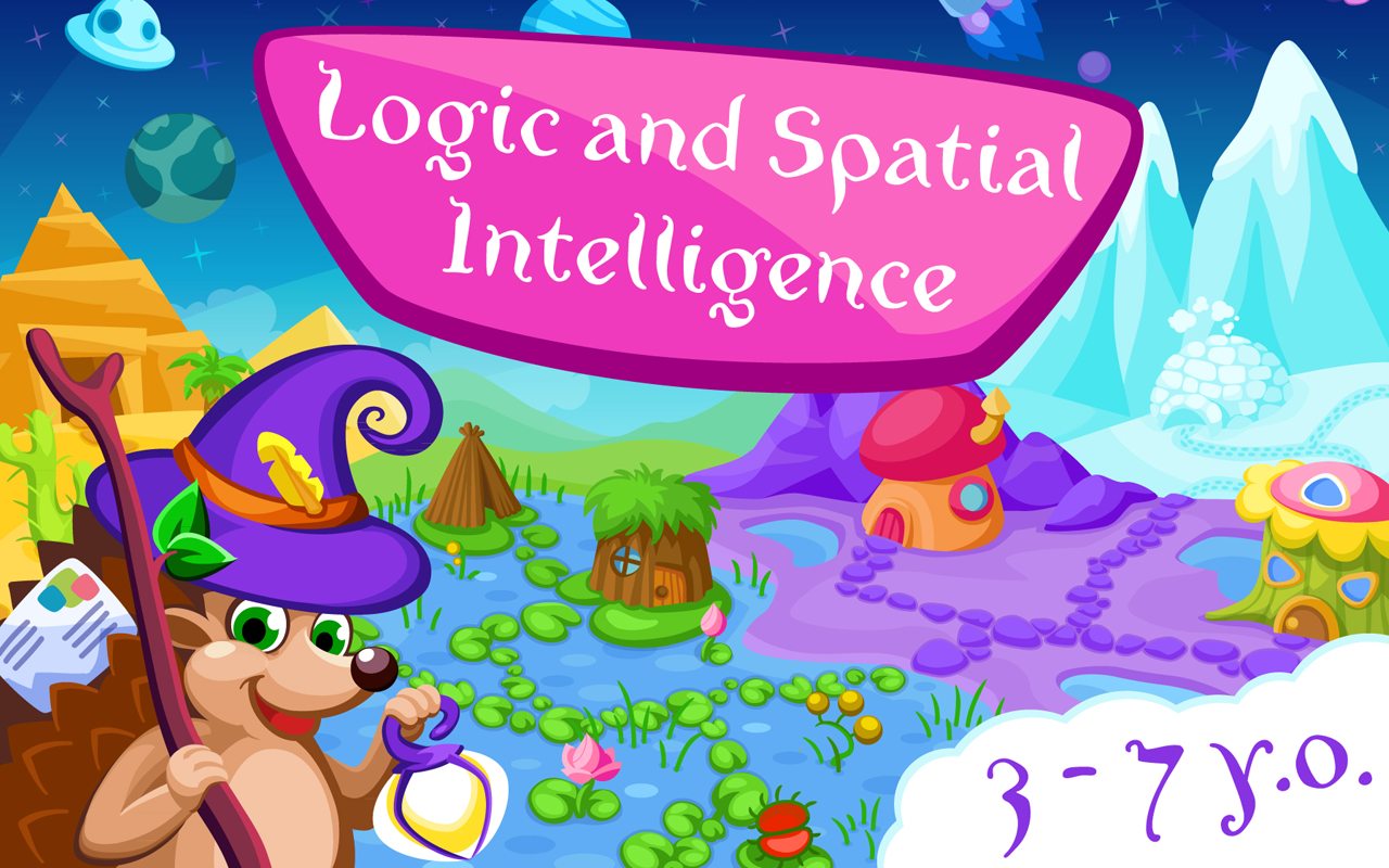Online coloring for 7 year olds - Logic For Kids 3 7 Years Free Screenshot