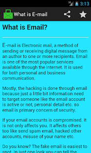 Spot Fake Email- screenshot thumbnail