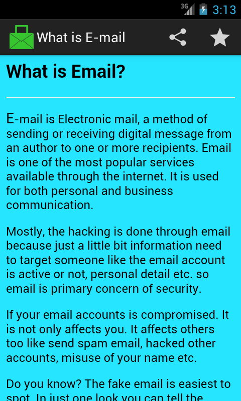 Spot Fake Email- screenshot