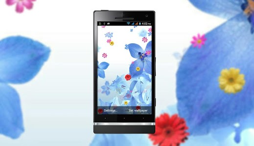 Beautiful Flower LiveWallpaper screenshot 0