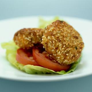A Healthy Chicken Burger.