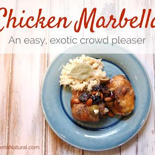 Mama's Easy & Exotic Chicken Marbella.