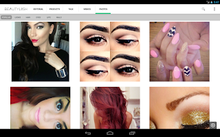 Screenshot of Beautylish: Makeup Beauty Tips