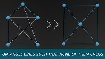Screenshot of Entangled Game - Logic Puzzle