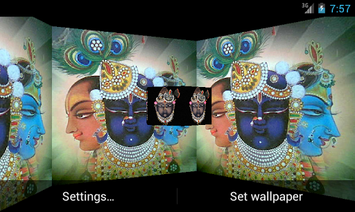 Shrinathji 3D Live Wallpaper