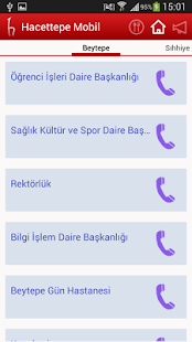 Hacettepe Mobil- screenshot thumbnail