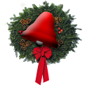 Christmas Bells 3D logo