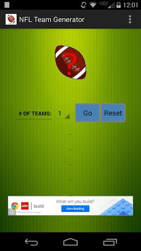 Football Team Generator