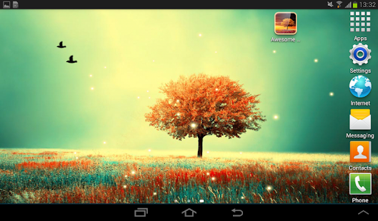 Awesome-Land Live wallpaper HD : Grow more trees 13