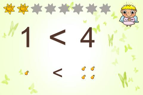 Zahlen / zählen lernen- screenshot