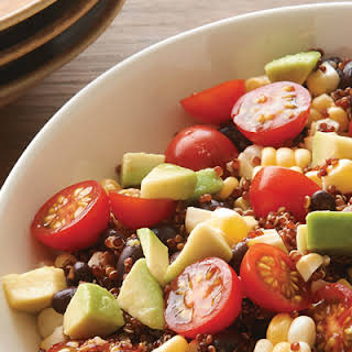 Red Quinoa Salad.