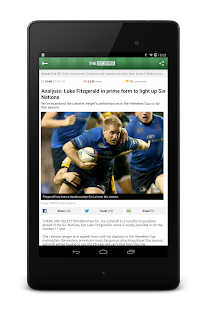 TheScore.ie Sports News - screenshot thumbnail
