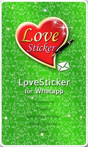 WhatsApp LoveSticker