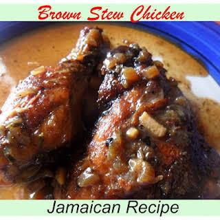 Jamaican Brown Stew Chicken.