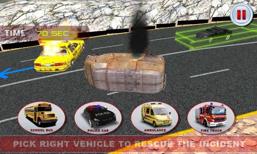 911應急救援模擬器