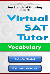 Virtual SAT Tutor - Vocabulary - screenshot thumbnail