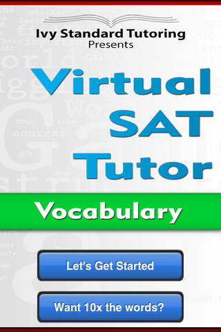 Virtual SAT Tutor - Vocabulary- screenshot