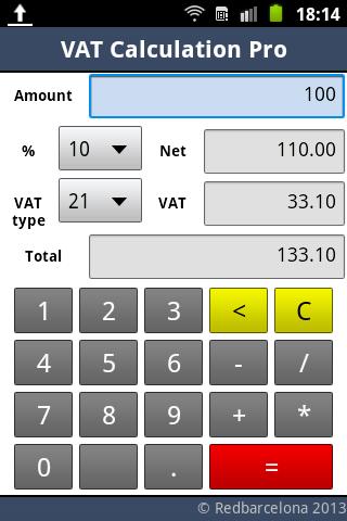 VAT Calculation Pro