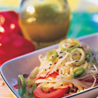 Witte Koolsalade Met Paprika