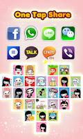Screenshot of My Chat Sticker EMOJI - Cute!