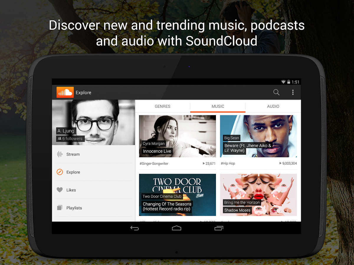 SoundCloud - Music & Audio- screenshot