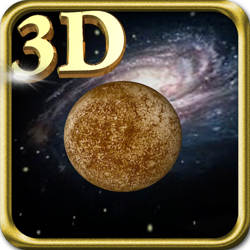 3D Mercury Live Wallpaper LOGO-APP點子