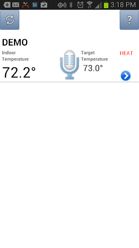 Voice RT - voice thermostat