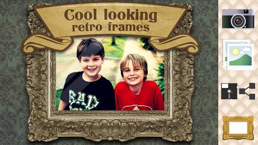 复古 相框 – 老照片 编辑