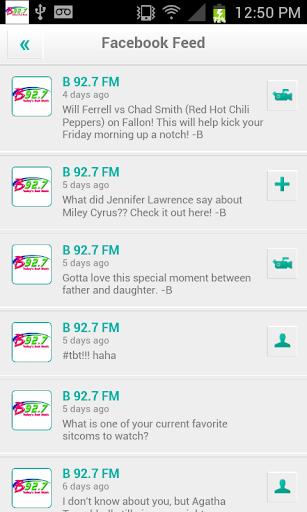 【免費音樂App】B 92.7 FM-APP點子