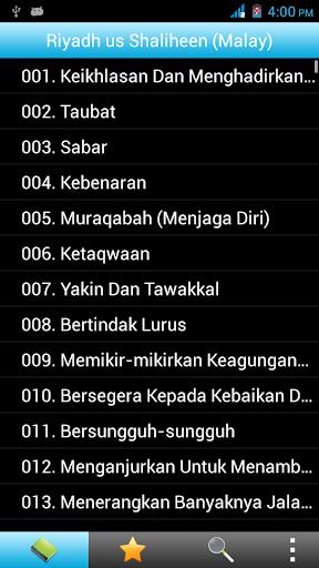 Riyad us Saliheen Melayu