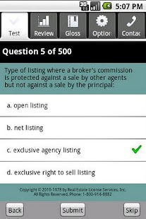 Real Estate Sales Exam Prep- screenshot thumbnail