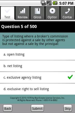 Real Estate Sales Exam Prep- screenshot