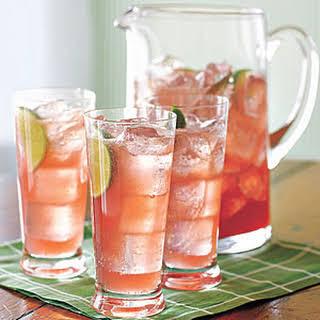 Raspberry-Lime Rickey.